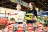 [포토]농협하나로마트, 올해 첫 출하 제주지역 참다래(레드키위) 판매