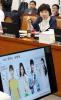 [포토]식품의약품안전처장 질의하는 박인숙 의원