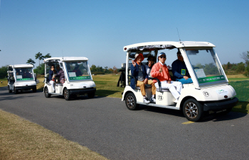 [포토] SL공사, 주민들에게 골프장 개방