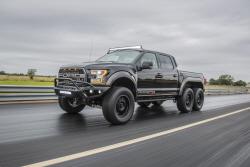 3억짜리 픽업트럭의 위엄…헤네시 '벨로시랩터 6x6'...