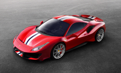 페라리 V8 스페셜 시리즈, '488 피스타' 최초 공개
