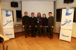 만도, 스웨덴 윈터테스트 30주년 기념식 개최