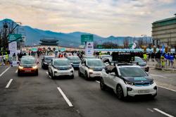 BMW도이치모터스, 서울국제마라톤대회에 전기차 i3 ...