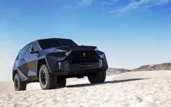 스텔스기를 꼭 닮은 40억짜리 SUV '칼만 킹'