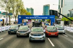 도이치모터스, '나이키 고 서울'에 BMW i3 지원