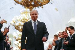 드디어 공개된 푸틴의 새로운 의전차 '코르테즈 리무진'