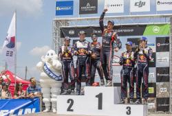 현대차 월드랠리팀, WRC 6차전 우승..시즌 종합순위 선두 올라