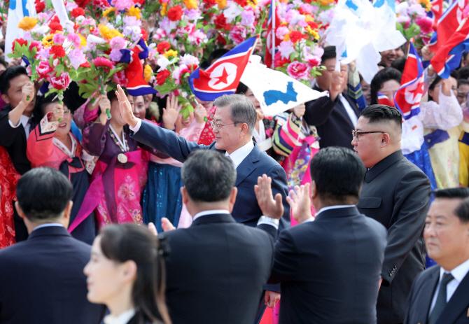 """'평양공동선언' 숨죽여 지켜본 세계…트럼프 """"매우 흥분된다"""""""