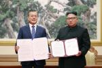 文대통령의 북미 비핵화 중재에 김정은 '평양선언'으로 화답