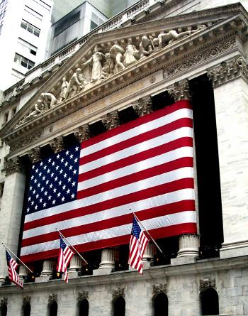 美국채수익률 급등에..은행주 '강세'