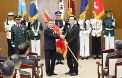 국방부장관 이·취임식