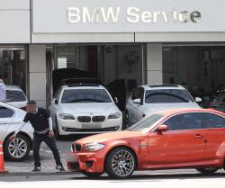 안전진단 점검 받은 BMW 차량서 화재…4번째