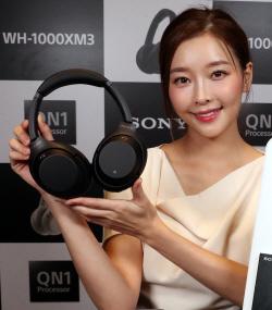 [포토]소니코리아, '무선 노이즈 캔슬링 헤드폰 WH-1000XM3' 출시