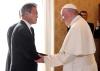 文대통령, 프란치스코 교황 예방…교황, 김정은 평양 초청에 답할까?