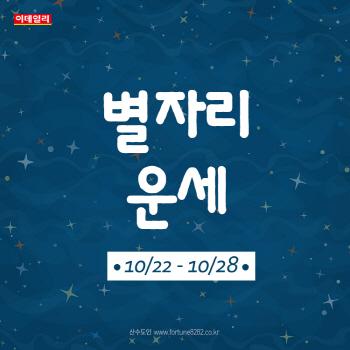 [카드뉴스]2018년 10월 넷째 주 '별자리 운세'