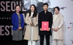 [포토]김나니-정석순 부부 '서울무용제' 홍보대사