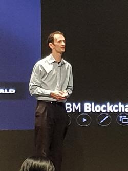 """매트 루카스 """"IBM, 600개 넘는 블록체인 프로젝트 진행중"""""""
