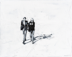[e갤러리] 두 남녀가 걷는다는 것밖엔…레섹 스쿠르스키 '연인'
