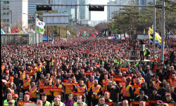 경찰 '국회 앞 분신 택시기사' 오늘 국과수 부검 실시