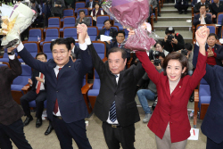 나경원 의원, '자유한국당 신임 원내대표 당선'