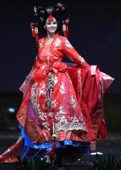 '미스 유니버스' 미스 코리아 백지현 '단아한 자태'