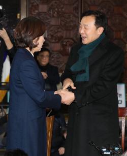 """단식 7일차 손학규, 나경원에 """"선거제 오래 끌면 날 못볼 것"""""""