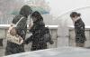 수도권 곳곳 눈 펑펑…영하 날씨에 빙판 퇴근길 우려