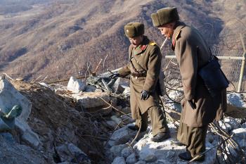남북 현장검증단, 군사분계선 만남