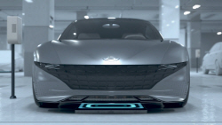 스스로 충전하고 발레파킹…현대·기아차, 스마트 자율주차 콘셉트 공개