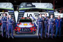 현대차 모터스포츠팀 올해 라인업 확정..WRC·WTCR 동반 우승 도전...