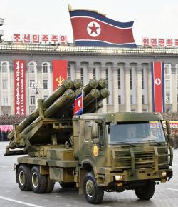 北 300mm 방사포 전력화…기존 방사포에 '특수탄' 장착