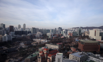 미세먼지 사라진 서울하늘