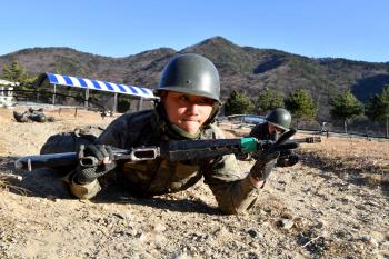 해군교육사령부 부사관후보생, 각개전투 훈련
