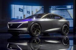 1회 최장 주행거리 610㎞…닛산의 차세대 EV 스포츠 세단 'IMs' 컨셉트카