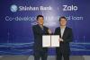 신한銀, 베트남 1위 SNS '잘로'와 디지털 대출상품 개발