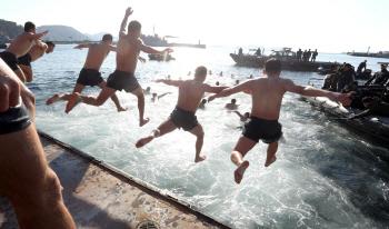 육군, 해병대 혹한기 훈련