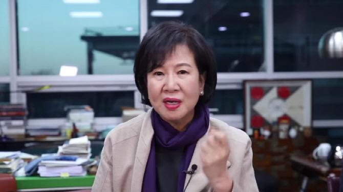 """손혜원 """"김정숙 여사, 신문보고 전화...文대통령 말씀없어"""" 영입설 부인"""