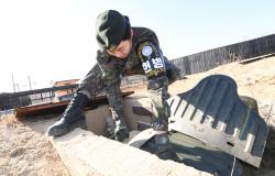 [포토] JSA 부대 창설 최초 여군 부사관 성유진 중사