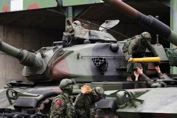 대만 합동군사훈련에 등장한 M110A2·M109A2