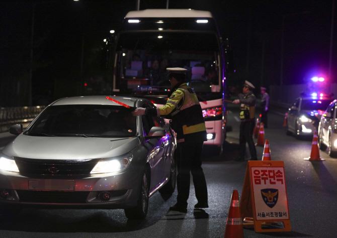 음주운전 뺑소니로 시민에게 붙잡힌 경찰 간부