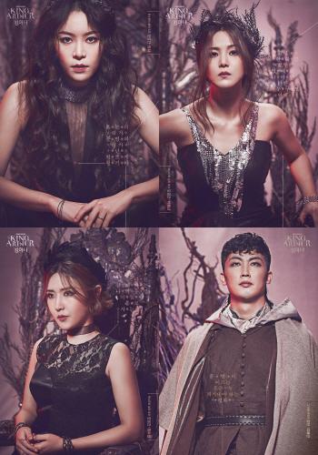한국 초연 '킹아더', 리사·박혜나·최수진·지혜근 출연