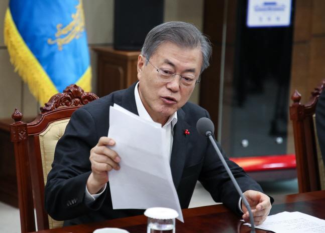 부산 북구청장, 文대통령 전화에 '울컥'...편지로 기초연금 호소