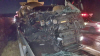 칠곡 경부고속도로 상행선서 25톤 탱크로리 화물차 추돌