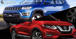 효율성 굿 가솔린 SUV 전성시대..3천만원대 수입 SUV 베스트 4
