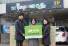 하이모, 강남 푸드뱅크·마켓에 건강식품 기부