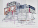 [e갤러리] 그 집 '빨간 배관'의 비밀…김도수 '대림로421번길'