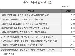 삼성→현대차, 그룹주펀드 대세 바뀌나