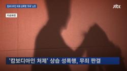 """외국인 처제 상습 성폭행, 무죄 나온 이유… """"소리 안쳐서"""""""