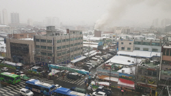 [포토] 서울 청량리농수산물시장서 화재