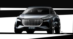 아우디, 제네바모터쇼서 쿠페형 SUV 'Q4 E-트론' 선봬